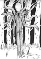 Slender man by thejamiu