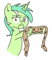 Lyra holding... tight by scienceisanart