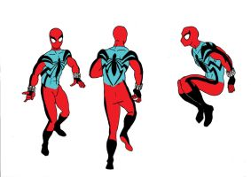 Scarlet Spider Redesign by MisterFear