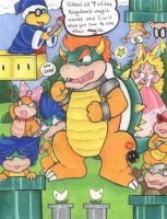The Koopa Klan by CaribbeanBlue