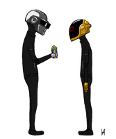 daft punk again by just-person