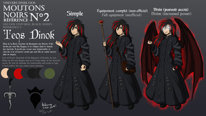 Teos Dinok - Black Sheeps design reference 2 by Elwensa
