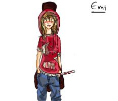 Gangster Emi by iAmTheForcex3