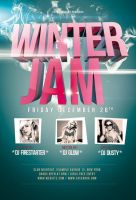 Winter Jam Flyer / Videoflyer by stockgorilla