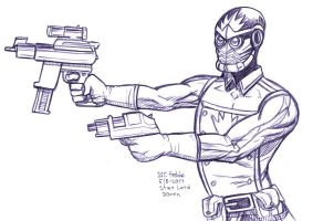 Daily Sketches Star Lord by fedde