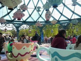 Mad Hatter Tea Cups by JudytaDragon
