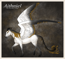 Aithniel, new character by Schwartze