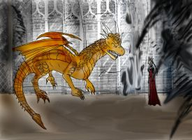 DH Draco vs Nereza by Selinelle