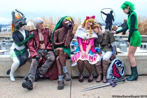 Katsucon 2015 - Zelda May Cry(PS) 14 by VideoGameStupid