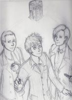 The Three New Doctors by ZutarianToph