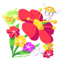 Flower Fairy Friends by A-Bumbling-Idiot