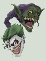 Joker and Goblin g45uk2 colour by ParisAlleyne