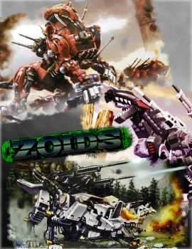 Zoids Montage by Mr-Carbon