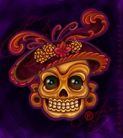 Catrina By Benjamin Otero by needtobleed