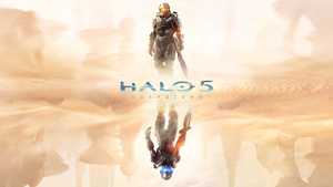 Halo 5: Guardians - Wallpaper Master Chief on Top by halo4guest