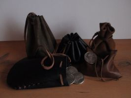 Coin Purse...Pouch by LeatherCraft
