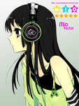 Mio Music Vector by ZeroAnhell