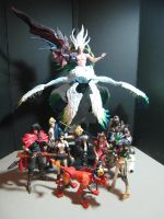 Safer Sephiroth Play Arts Cust by neoarchangemon