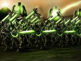 Necron Battle Formation by KaneNash