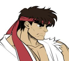 Ryu SNES by zetarok