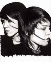 Tegan and Sara FINAL by Axelle-Black