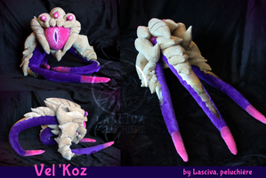Vel'Koz custom plush by Peluchiere