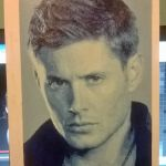 Jensen Ackles pixel painting by leb82
