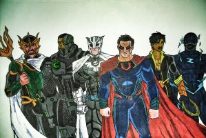 DCEU: Crime Syndicate by Bobkitty23
