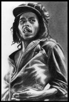 Bob Marley Portrait by missperple
