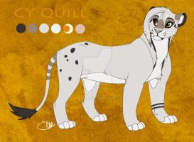 Quill Reference Sheet by Dilydu