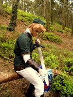 Link Cosplay: Sword Cleaning by Jack-0f-Diam0ndz