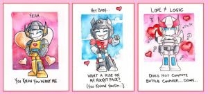 Transformers: Valentine Cards by The-Starhorse