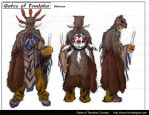 Shaman Orthographics by Hoabert