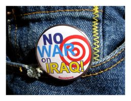 No War On Iraq by kayne