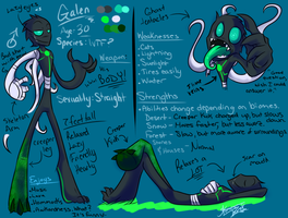 MineQUEST: Galen Ref Sheet by Komic-Kazi