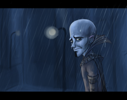 Rejection in the Rain by Gellyh