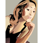 Vector portrait by Arkenations