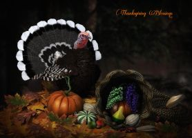 Thanksgiving Blessings 2013 by Dani3D