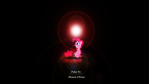 Element of Funny - Pinkie Pie Wallpaper by Zoekleinman