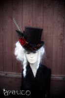 Brocade Top Hat by apatico