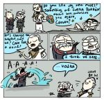 The Witcher 3, doodles 145 by Ayej