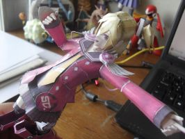 Papercraft - Emilia Percival 01 by ckry