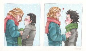 Too hot or too cold? [Thorki] by ProfDrLachfinger