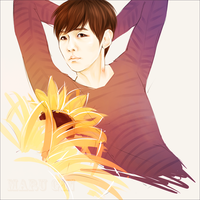 [speedart]Baekhyun by MaruGin