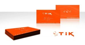 TIK - Business card design by cobra892