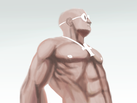 Riddick In Wite by alexis667