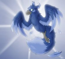 Gift Art for Blue-Crow by That-Stupid-Dingo
