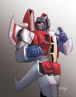 Starscream by Tyr44