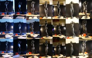 Sculpture In Progress by MHodges