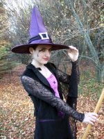 Purple Spider Witch 4 by Stocked-N-Loaded
